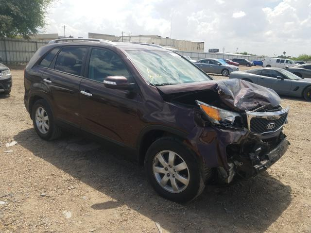 Salvage cars for sale from Copart Mercedes, TX: 2013 KIA Sorento LX