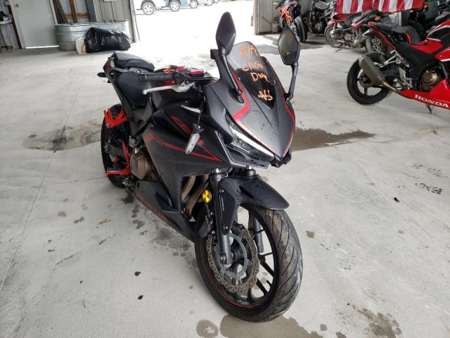Salvage cars for sale from Copart Rogersville, MO: 2021 Honda CBR500 RA