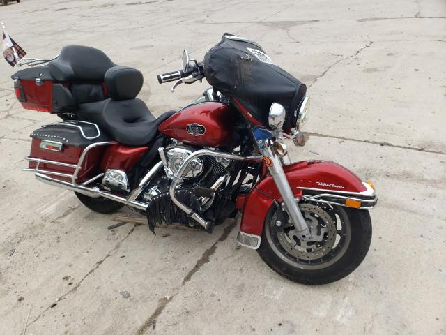 Salvage motorcycles for sale at Columbus, OH auction: 2008 Harley-Davidson Flhtcui