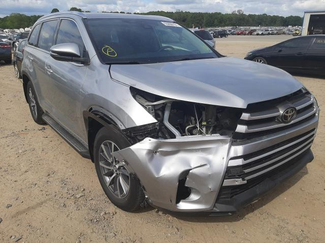 Salvage cars for sale at Conway, AR auction: 2018 Toyota Highlander