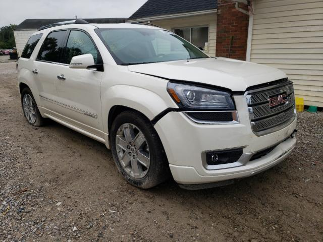 Salvage cars for sale from Copart Northfield, OH: 2015 GMC Acadia DEN