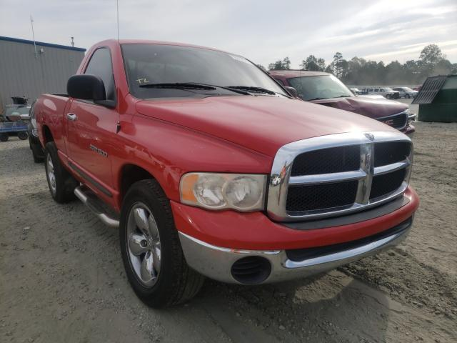 Salvage cars for sale from Copart Spartanburg, SC: 2005 Dodge RAM 1500 S