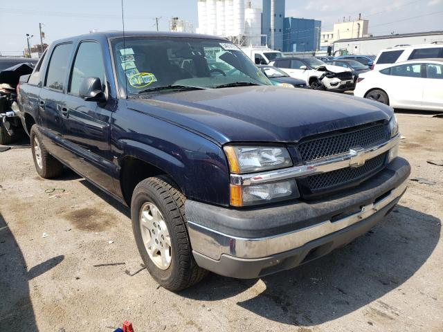 Salvage cars for sale from Copart Chicago Heights, IL: 2004 Chevrolet Avalanche