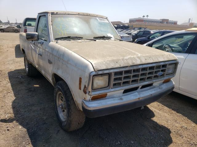 Salvage cars for sale from Copart San Martin, CA: 1986 Ford Ranger