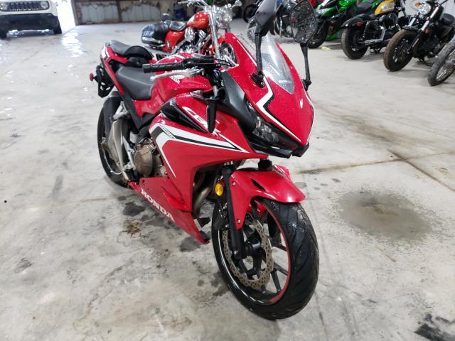 Salvage motorcycles for sale at Lexington, KY auction: 2020 Honda CBR500 R