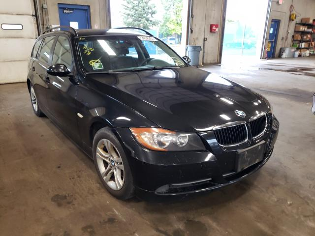 Salvage cars for sale from Copart Blaine, MN: 2008 BMW 328 XIT