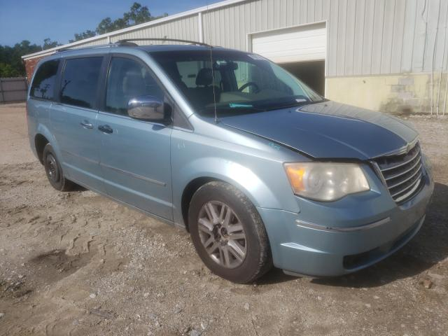 Salvage cars for sale from Copart Hampton, VA: 2008 Chrysler Town & Country