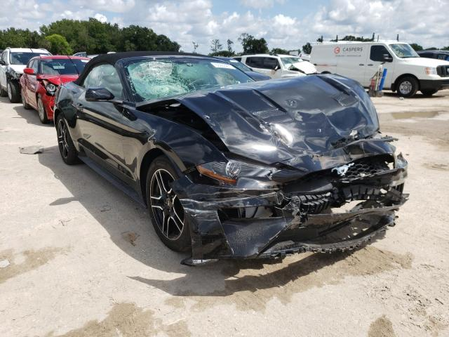 Ford salvage cars for sale: 2018 Ford Mustang