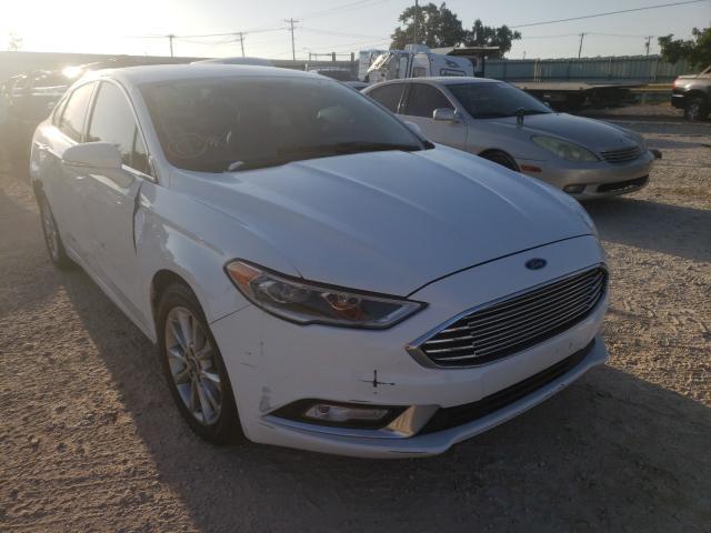 2017 Ford Fusion SE en venta en Oklahoma City, OK