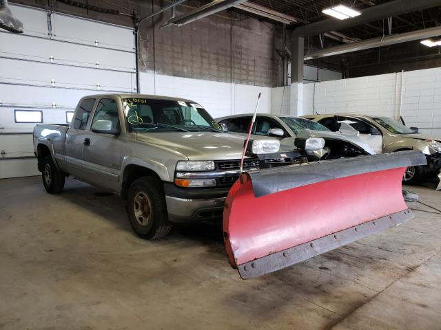 Salvage cars for sale from Copart Blaine, MN: 2001 Chevrolet Silverado