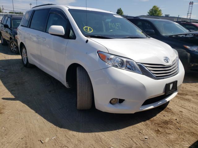 Vehiculos salvage en venta de Copart Finksburg, MD: 2014 Toyota Sienna XLE