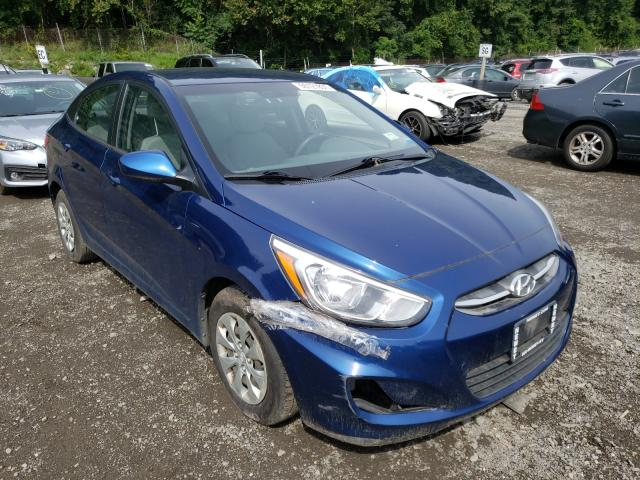Salvage cars for sale from Copart Marlboro, NY: 2016 Hyundai Accent SE