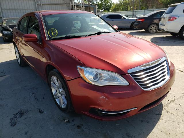Salvage cars for sale from Copart Corpus Christi, TX: 2013 Chrysler 200 Touring