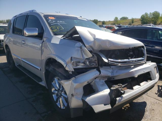 Salvage cars for sale at Littleton, CO auction: 2008 Infiniti QX56