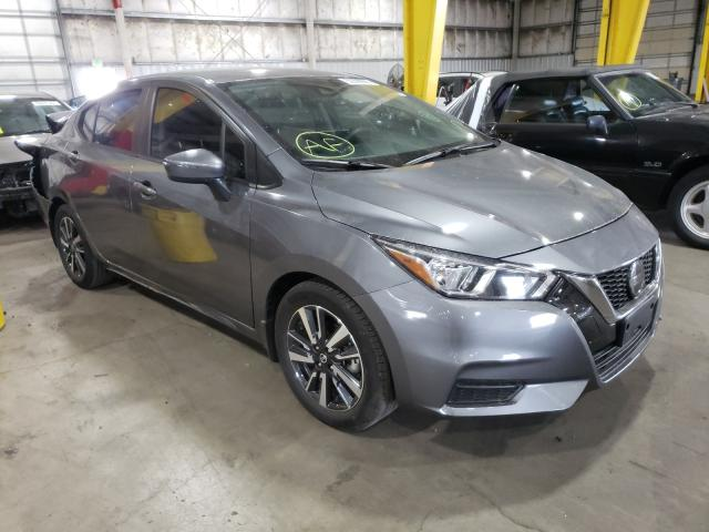 Salvage cars for sale at Woodburn, OR auction: 2020 Nissan Versa SV