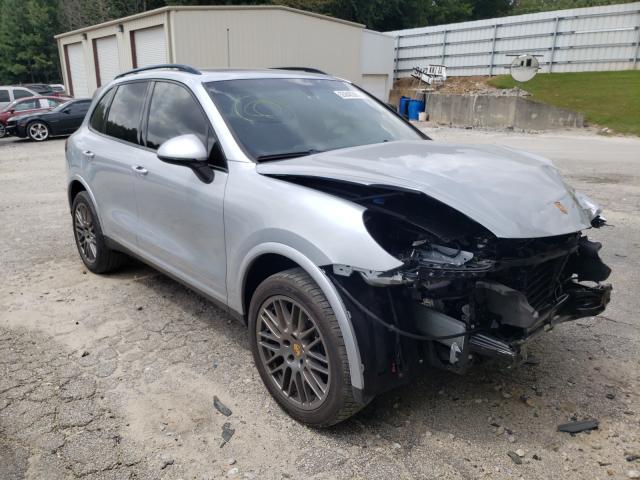 Salvage cars for sale from Copart Gainesville, GA: 2017 Porsche Cayenne