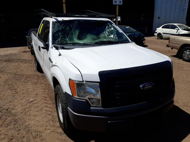 Salvage cars for sale from Copart Phoenix, AZ: 2014 Ford F150 Super