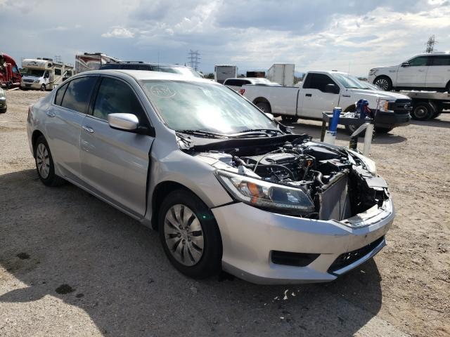 Salvage cars for sale at Tucson, AZ auction: 2013 Honda Accord LX