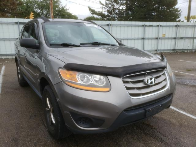 Salvage cars for sale from Copart Moraine, OH: 2011 Hyundai Santa FE G