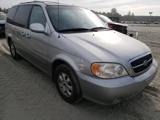 KIA Sedona EX salvage cars for sale: 2004 KIA Sedona EX