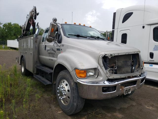 Salvage cars for sale from Copart Chambersburg, PA: 2009 Ford F750 Super