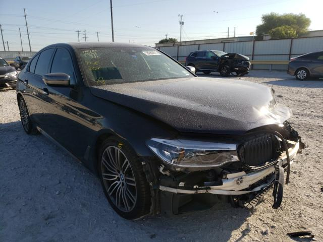 Salvage cars for sale from Copart Haslet, TX: 2018 BMW M550XI
