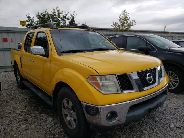Salvage cars for sale from Copart Walton, KY: 2006 Nissan Frontier C
