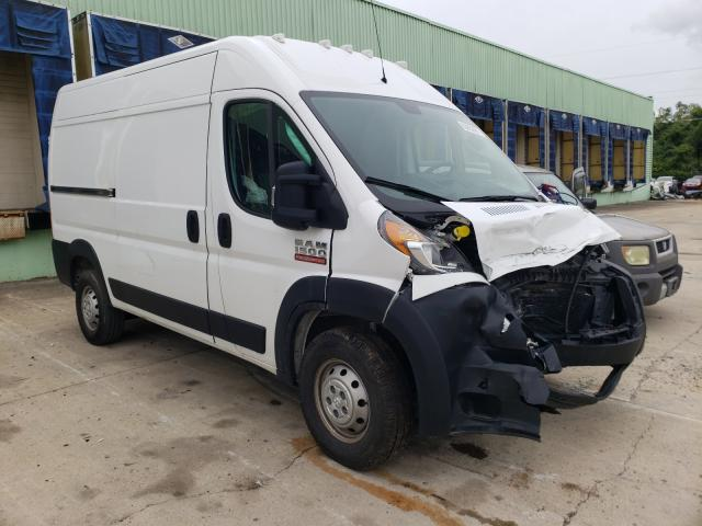 Salvage cars for sale from Copart Columbus, OH: 2019 Dodge RAM Promaster
