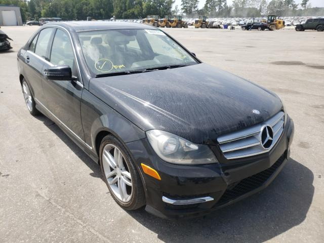 Salvage cars for sale from Copart Dunn, NC: 2013 Mercedes-Benz C 250