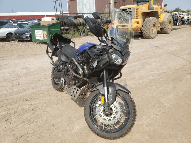 Salvage cars for sale from Copart Billings, MT: 2018 Yamaha XT1200ZE