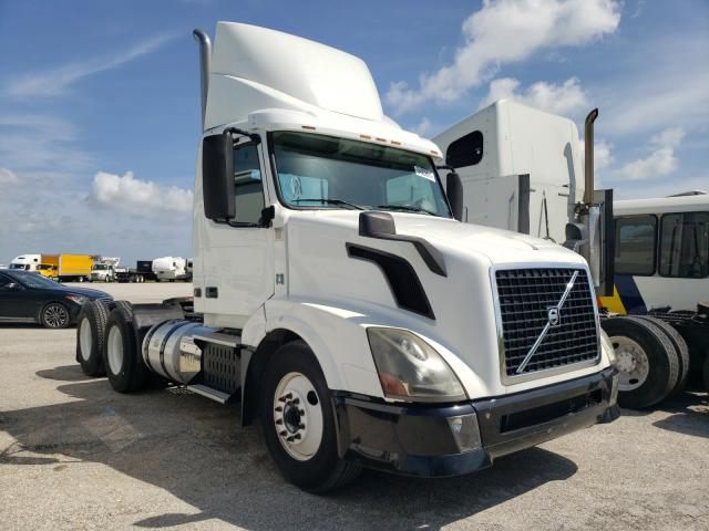 Salvage cars for sale from Copart Homestead, FL: 2013 Volvo VNL