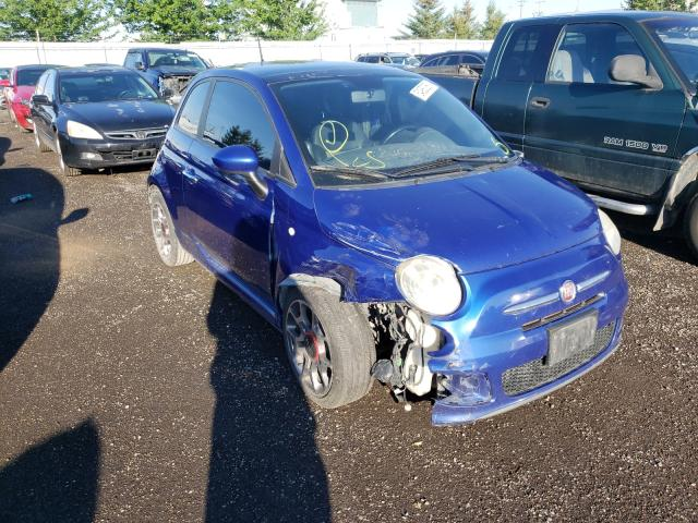 Fiat salvage cars for sale: 2012 Fiat 500 Sport