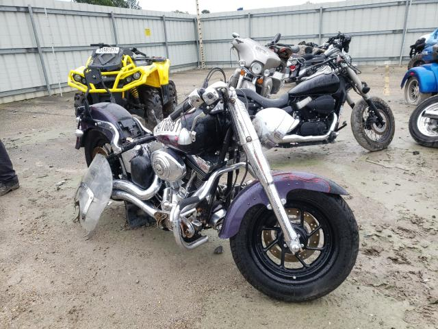 Salvage cars for sale from Copart Montgomery, AL: 2004 Harley-Davidson Flstf