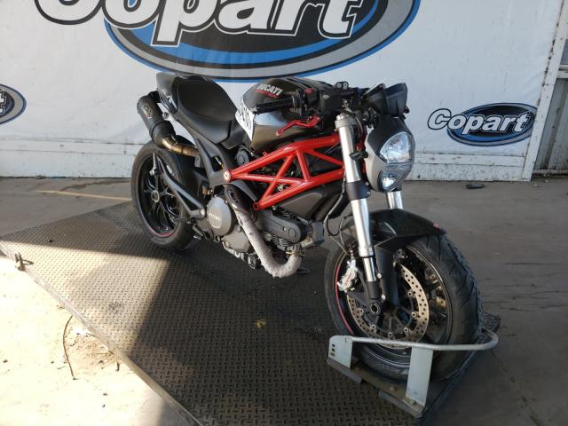 Salvage cars for sale from Copart Grand Prairie, TX: 2014 Ducati Monster 79