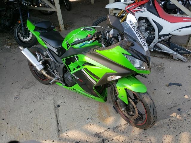 Salvage cars for sale from Copart Littleton, CO: 2014 Kawasaki EX300 A