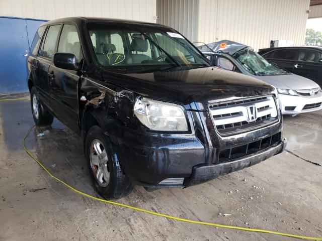 Salvage cars for sale from Copart Homestead, FL: 2007 Honda Pilot LX
