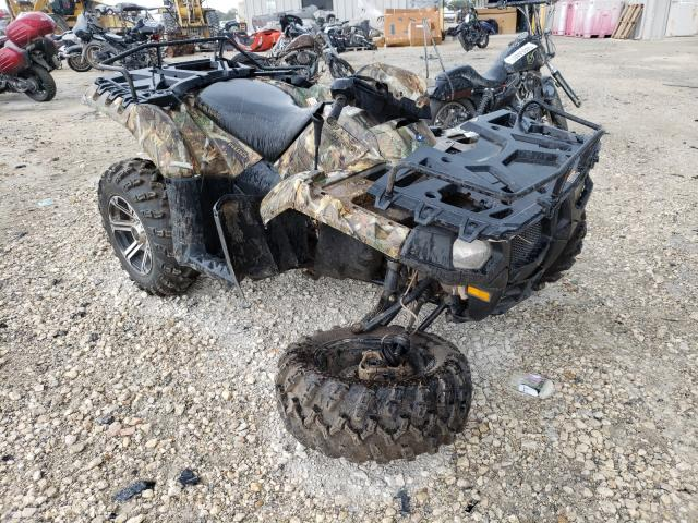 Salvage cars for sale from Copart New Braunfels, TX: 2012 Polaris Sportsman
