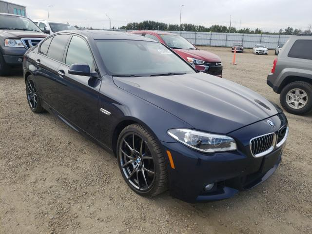 Salvage cars for sale from Copart Nisku, AB: 2014 BMW 550 XI