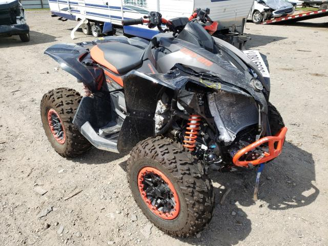 Salvage cars for sale from Copart Davison, MI: 2020 Can-Am Renegade X