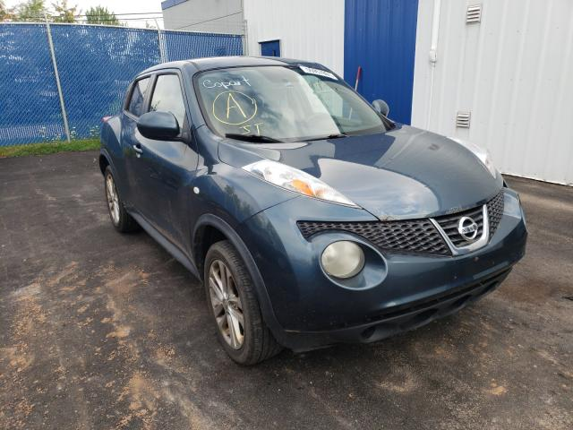 Salvage cars for sale at Moncton, NB auction: 2011 Nissan Juke S