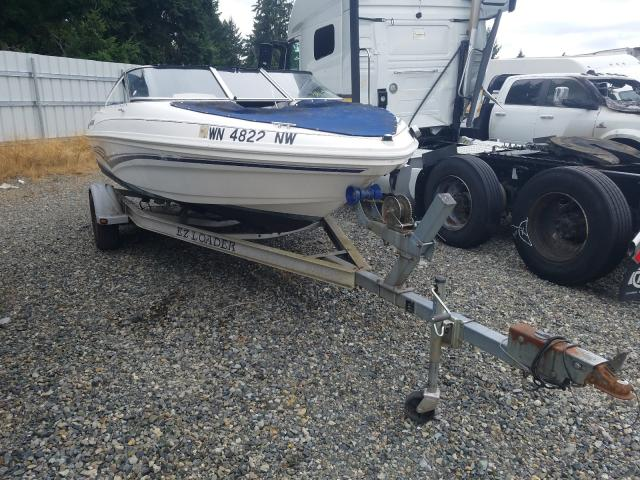 Larson salvage cars for sale: 2007 Larson Boat With Trailer