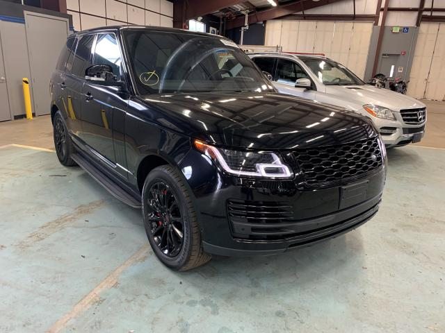 Salvage cars for sale at East Granby, CT auction: 2018 Land Rover Range Rover
