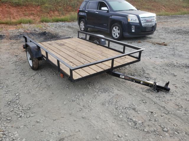 Salvage cars for sale from Copart Spartanburg, SC: 2020 Carry-On 5X8 Trailer
