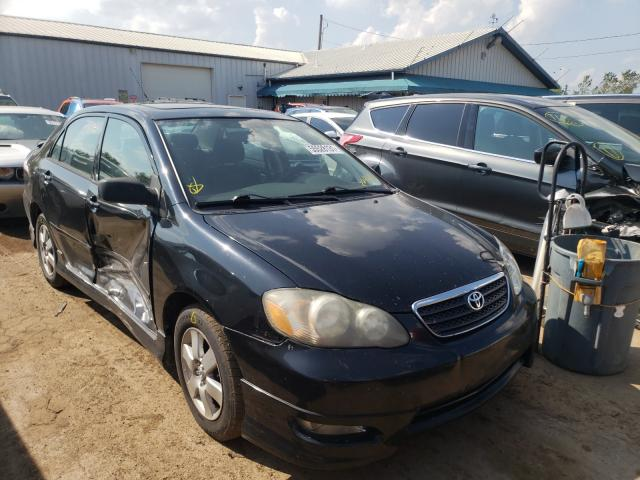 Salvage cars for sale from Copart Pekin, IL: 2005 Toyota Corolla
