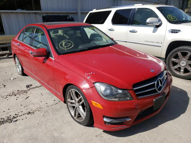 Salvage cars for sale from Copart Corpus Christi, TX: 2014 Mercedes-Benz C 250