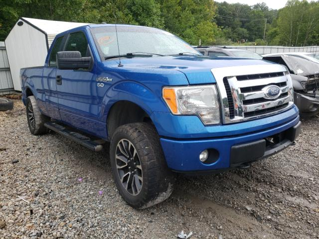 Salvage cars for sale from Copart Hurricane, WV: 2013 Ford F150 Super