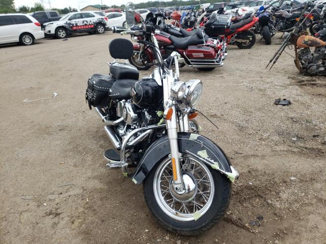 Salvage cars for sale from Copart Pekin, IL: 2013 Harley-Davidson Flstc Heri