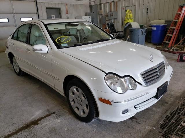 Salvage cars for sale from Copart Columbia, MO: 2006 Mercedes-Benz C 350