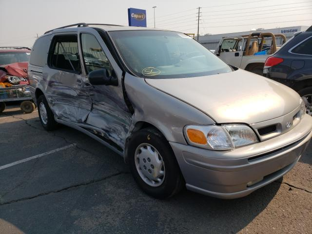 Oldsmobile Silhouette salvage cars for sale: 2000 Oldsmobile Silhouette