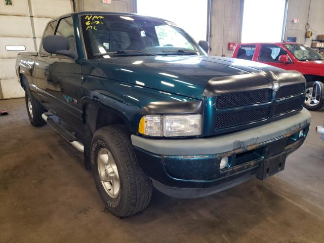 Salvage cars for sale from Copart Blaine, MN: 1998 Dodge RAM 1500
